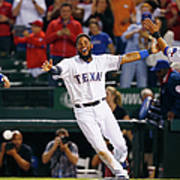 Elvis Andrus and Shin-soo Choo Poster