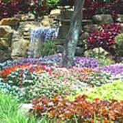 Floral Garden Poster