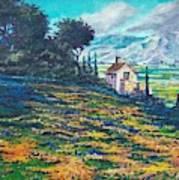 Flower Hill Poster