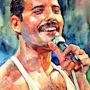 Freddie Mercury Live Aid Poster