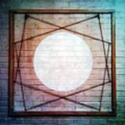 Geometric Wall Eq 5 Poster
