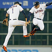 George Springer and Carlos Correa Poster