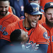George Springer and Tony Kemp Poster