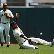 Gregor Blanco and Billy Burns Poster