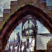 Hogsmeade Entrance Archway Poster
