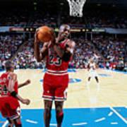 Horace Grant and Michael Jordan Poster