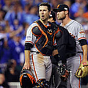 Hunter Strickland and Buster Posey Poster