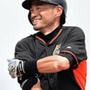 Ichiro Suzuki Poster