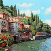 Impressioni Del Lago Poster