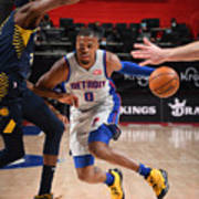 Indiana Pacers v Detroit Pistons Poster