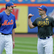 Jacob Degrom and David Wright Poster