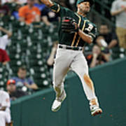 Jake Marisnick and Marcus Semien Poster