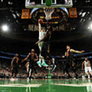 Jayson Tatum and Lebron James Poster