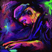 Jazz Monster Dave Frank Poster