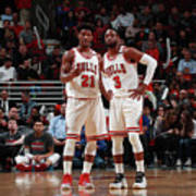 Jimmy Butler and Dwyane Wade Poster