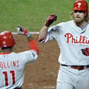 Jimmy Rollins and Jayson Werth Poster