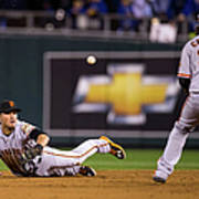 Joe Panik and Brandon Crawford Poster