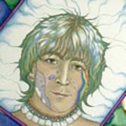 John Lennon Tripping Poster