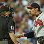 John Smoltz and Jimmy Rollins Poster