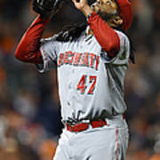 Johnny Cueto Poster