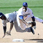 Justin Upton and Howie Kendrick Poster