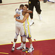 Kevin Durant and Klay Thompson Poster