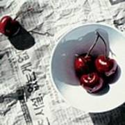 Korean Cherries Poster