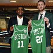 Kyrie Irving and Gordon Hayward Poster