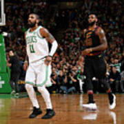 Kyrie Irving and Lebron James Poster