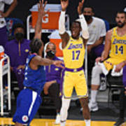 LA Clippers v Los Angeles Lakers Poster