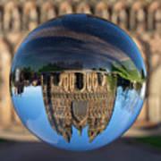 Lichfield lens ball Poster