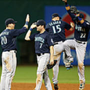 Logan Morrison, Seth Smith, and Kyle Seager Poster