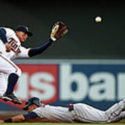 Lonnie Chisenhall and Eduardo Escobar Poster