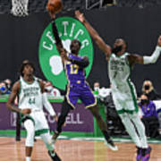 Los Angeles Lakers v Boston Celtics Poster