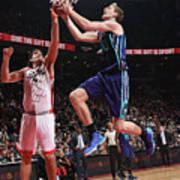 Luis Scola and Cody Zeller Poster