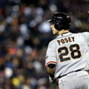 Max Scherzer and Buster Posey Poster