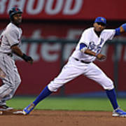 Michael Bourn and Alcides Escobar Poster