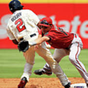 Michael Bourn and Nick Ahmed Poster