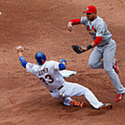 Michael Cuddyer and Jhonny Peralta Poster