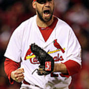 Michael Young and Chris Carpenter Poster
