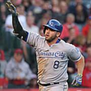 Mike Moustakas Poster