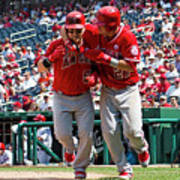 Mike Trout and Kole Calhoun Poster