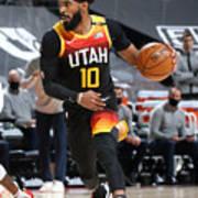 Minnesota Timberwolves v Utah Jazz Poster