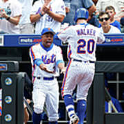Neil Walker and Curtis Granderson Poster