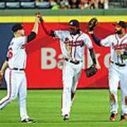 Nick Markakis and Cameron Maybin Poster