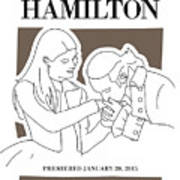 No003 MY Hamilton musical poster Poster