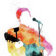 No076 MY PAUL MCCARTNEY Watercolor Music poster Poster
