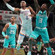 Oklahoma City Thunder v Charlotte Hornets Poster