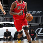 Oklahoma City Thunder v Chicago Bulls Poster