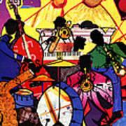 Old School Jazz Poster